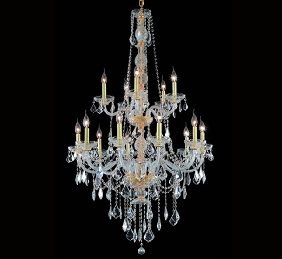 Verona Collection Extra Large Crystal Chandelier Grand Light Regarding Extra Large Crystal Chandeliers (#12 of 12)