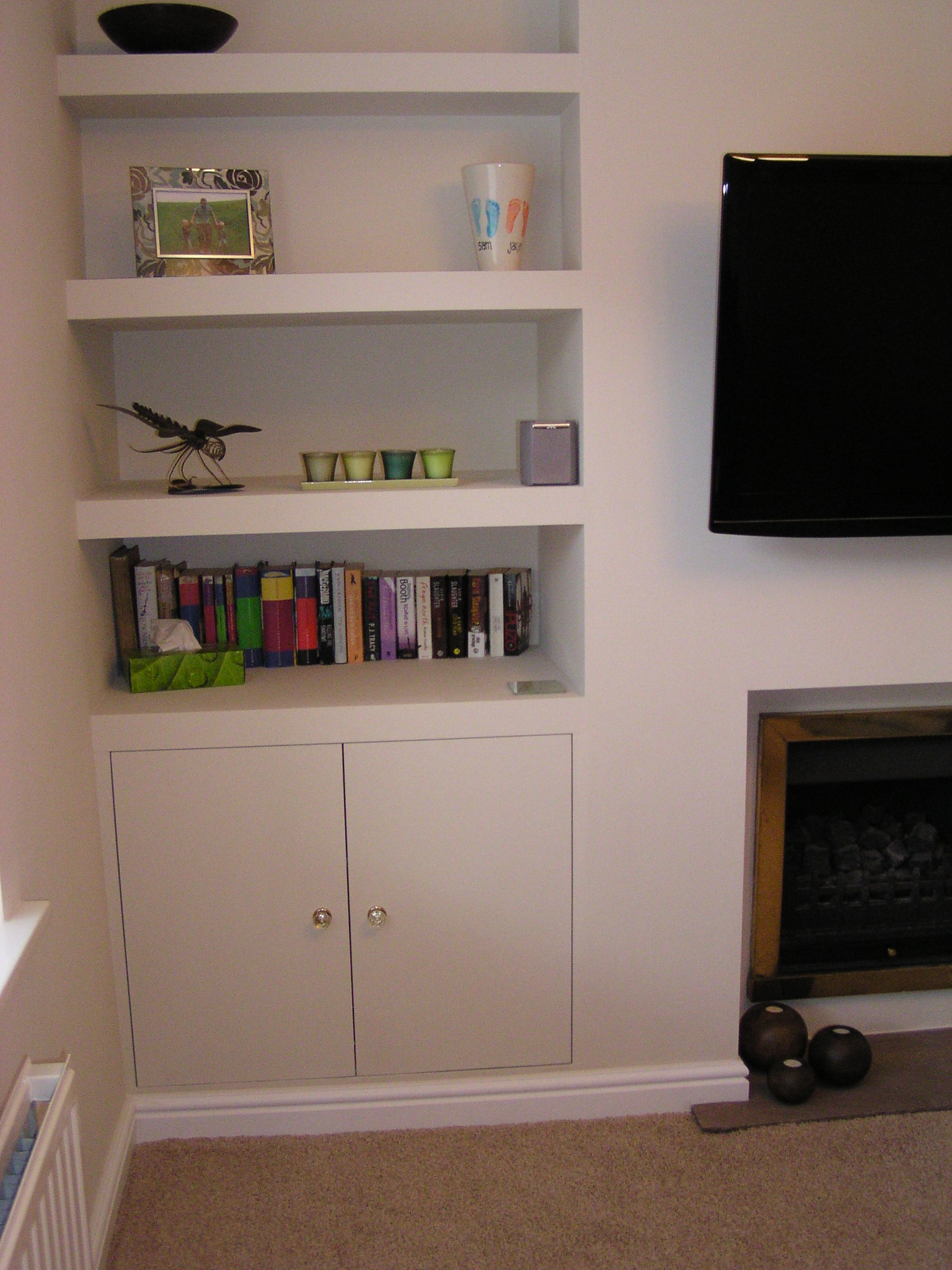 View Examples Of Our Work And Read Customer Recommendations Inside Fitted Shelves (View 10 of 15)