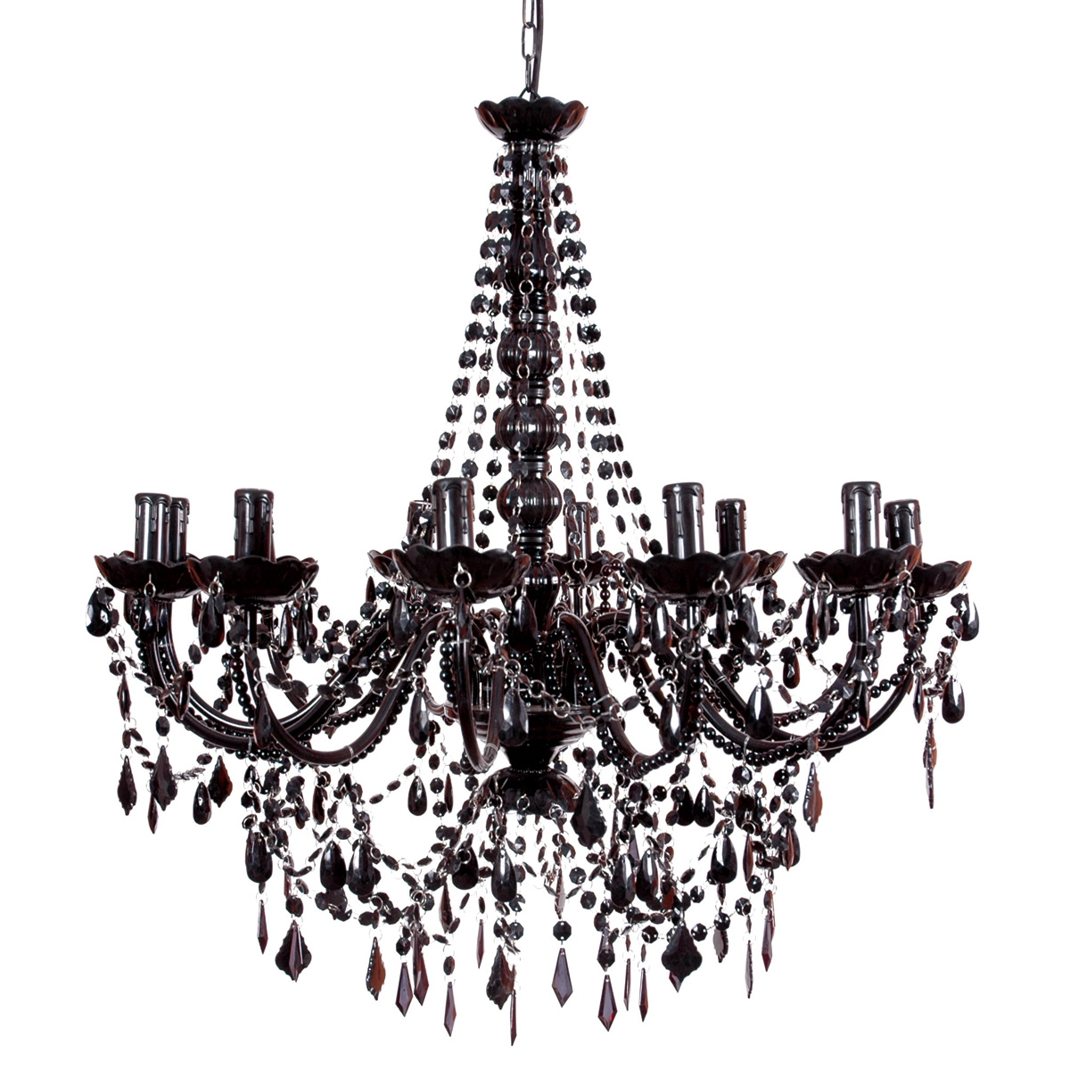 Vintage Black Chandelier For Bedroom Image 4 Courtagerivegauche Inside Vintage Black Chandelier (#8 of 12)