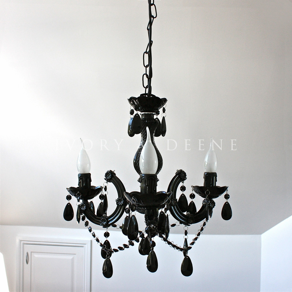 Vintage Black Chandelier Interior Design Ideas For Vintage Black Chandelier (#11 of 12)
