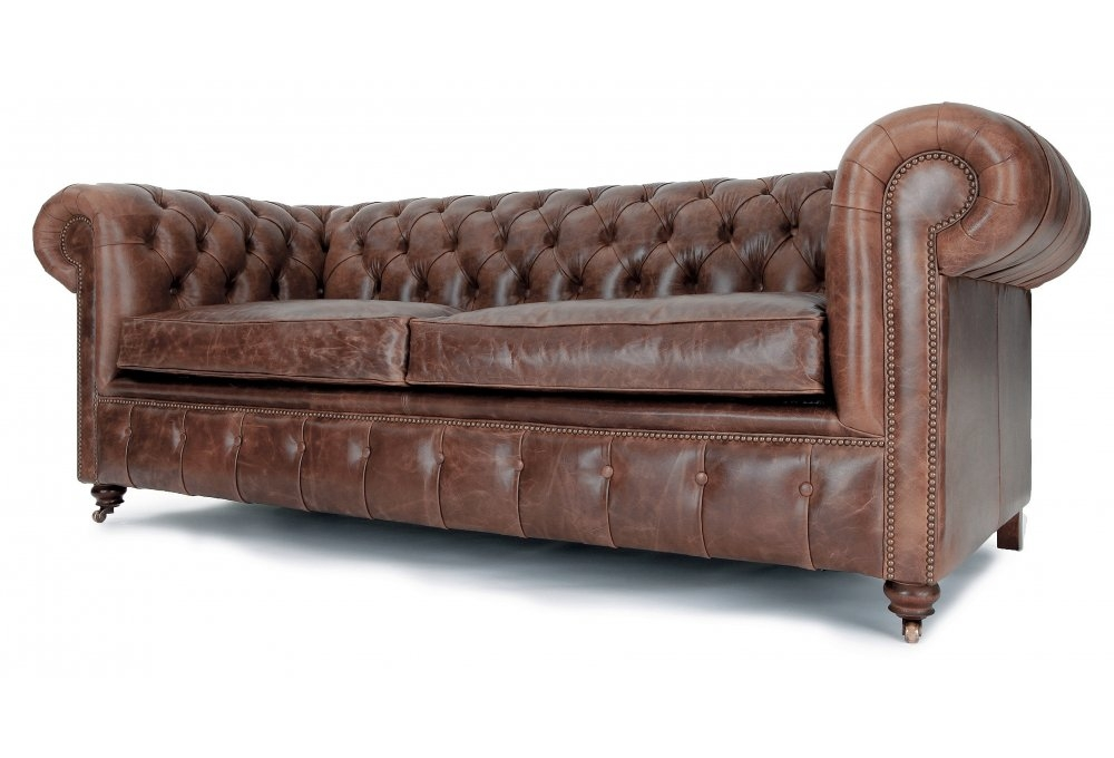 Vintage Leather Sofa Bed Goodca Sofa Within Vintage Leather Sofa Beds (#13 of 15)