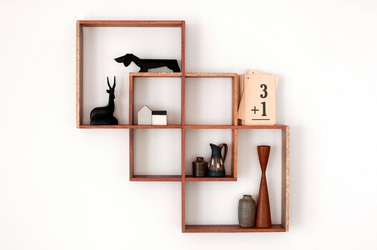 Vintage Shelves Etsy Regarding Handmade Wooden Shelves (#14 of 15)