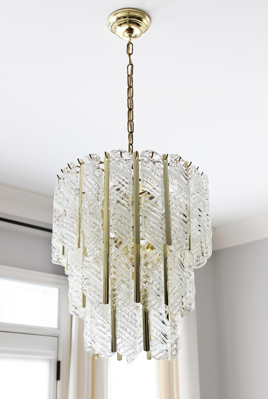 Vintage Venini Murano Glass Chandelier Am Dolce Vita Pinterest Inside Murano Chandelier Replica (#12 of 12)