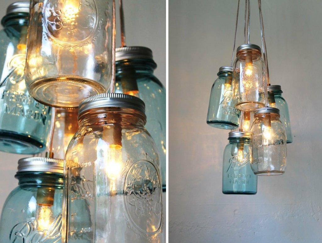 Vintage Wedding Idea For Mason Jar Chandelier Within Chandeliers Vintage (#12 of 12)
