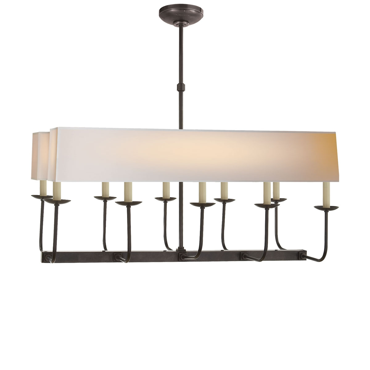 Visual Comfort Linear Branched Chandelier Neenas Lighting Inside Branched Chandelier (#8 of 12)