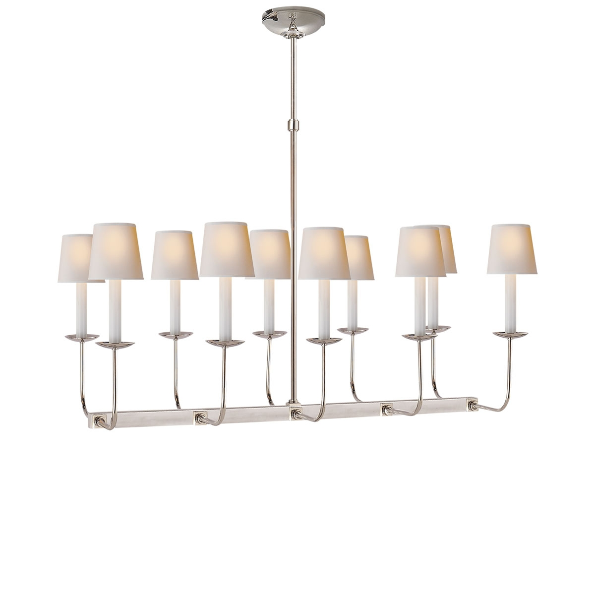 Visual Comfort Linear Branched Chandelier Neenas Lighting Within Branched Chandelier (#9 of 12)