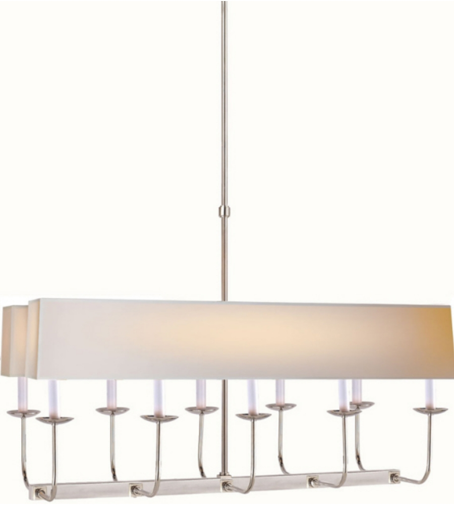 Visual Comfort Sl 5863pn Np2 E F Chapman Modern Linear Branched Regarding Branched Chandelier (#12 of 12)