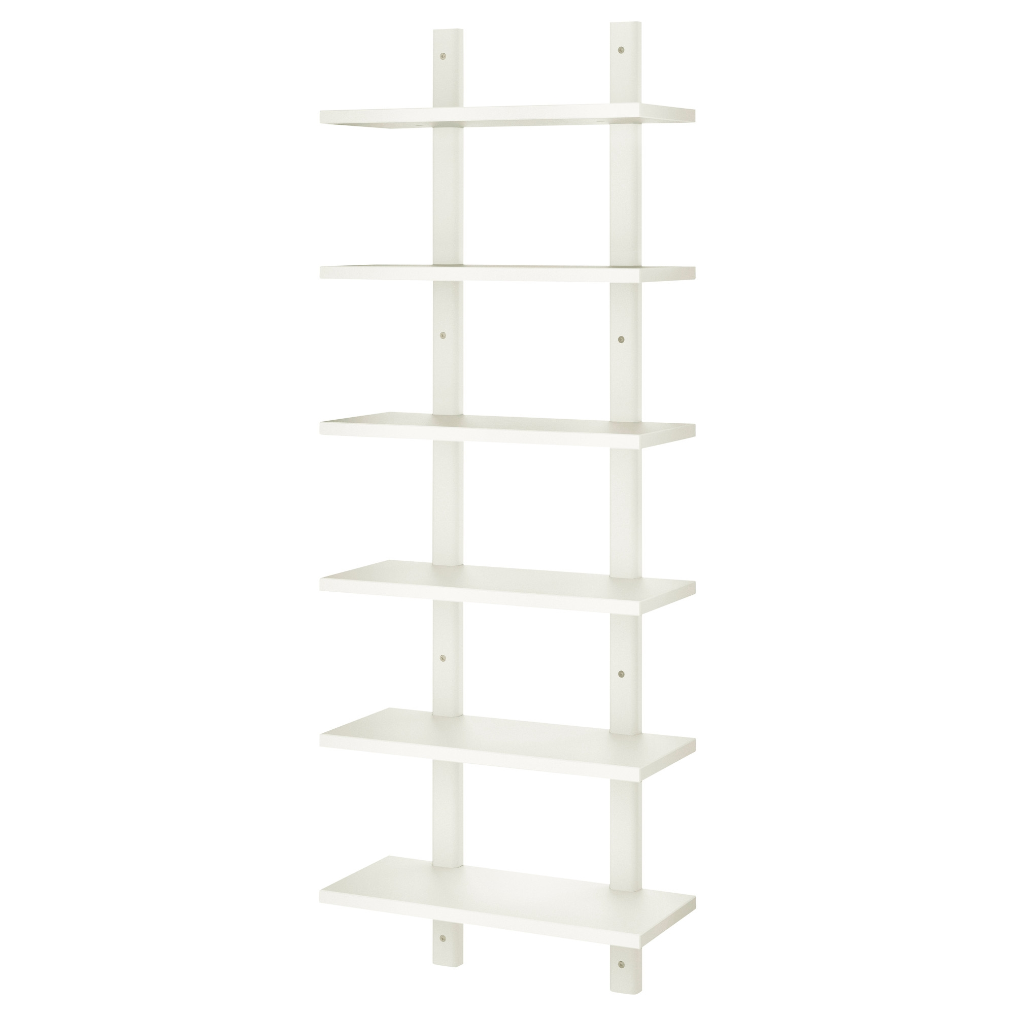 Vrde Wall Shelf Ikea With Free Standing White Shelves (#15 of 15)