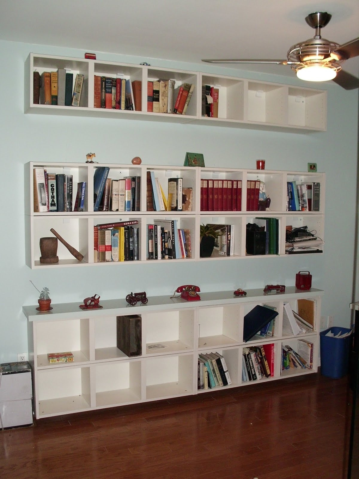 Wall Mounted Bookcases Ikea Roselawnlutheran Regarding Wall To Wall Bookcases (#13 of 15)