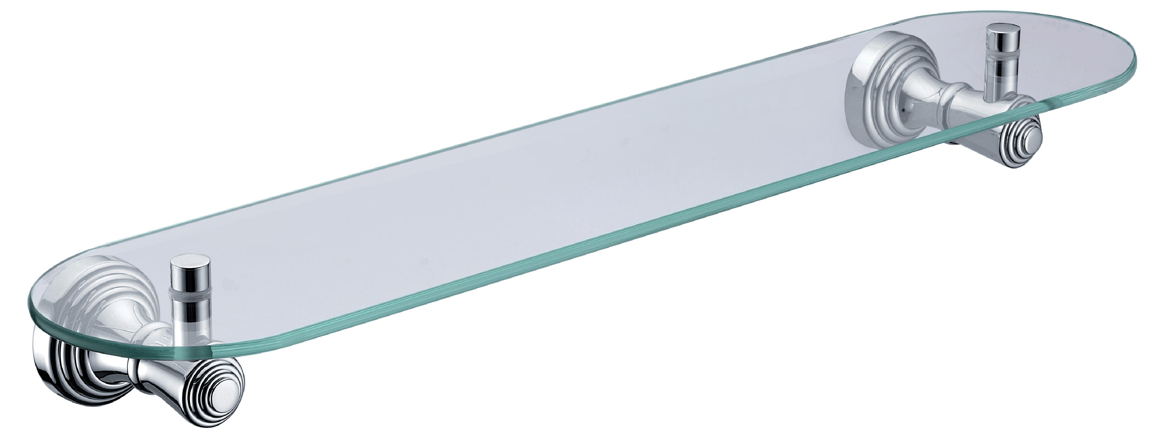 Wall Mounted Glass Shelf In Bathroom Accessoriesglass Shelf Inside Glass Shelf Brackets Floating On Air (#12 of 12)