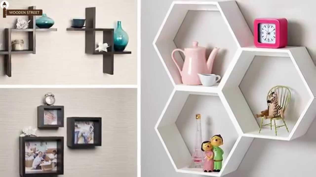 Wall Shelves Buy Wooden Wall Shelves Online In India Wooden Within Wooden Wall Shelves (#5 of 15)