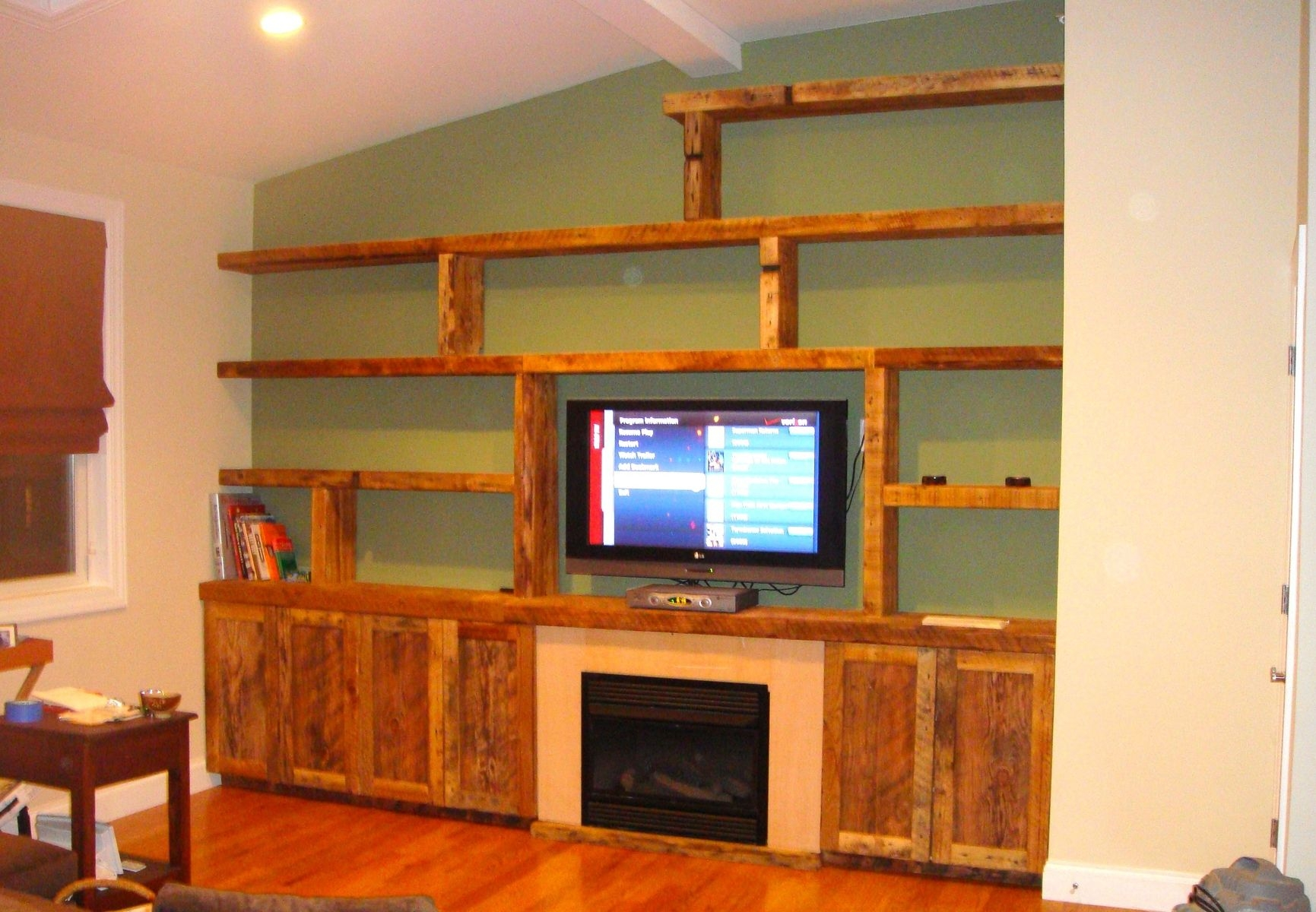 Wall Shelves Design Built In Wall Shelving Units For Bathroom Pertaining To Built In Tv Bookcase (#15 of 15)