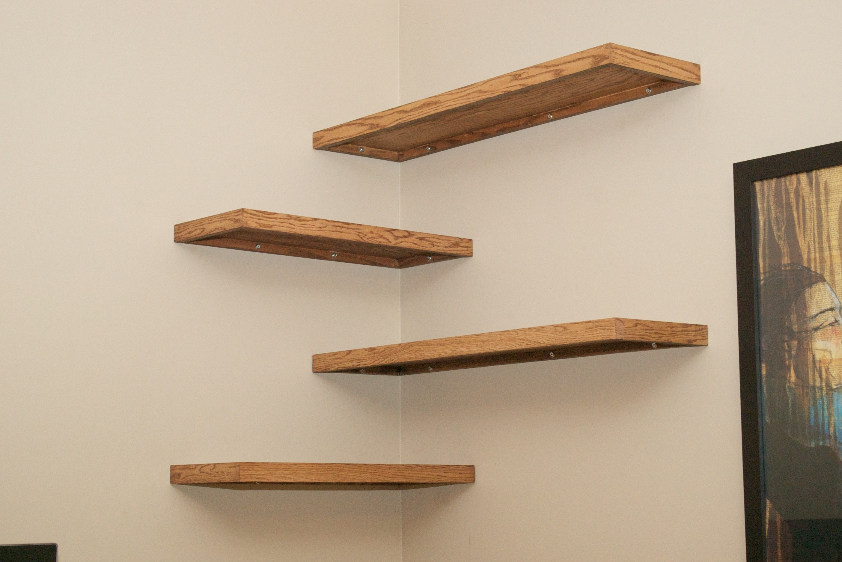 Wall Shelves Design Cherry Wood Wall Shelves For Sale Cherry Wood Pertaining To Wooden Wall Shelves (#7 of 15)