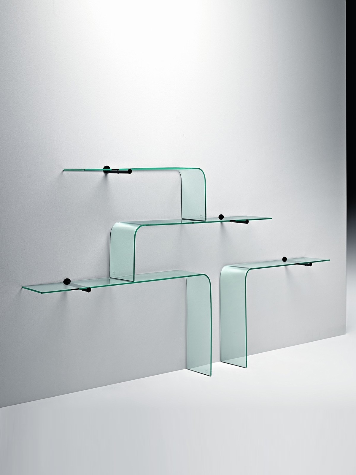 Wall Shelves Design Great Wall Mounted Glass Shelving Unit Wall With Glass Shelving (#12 of 12)