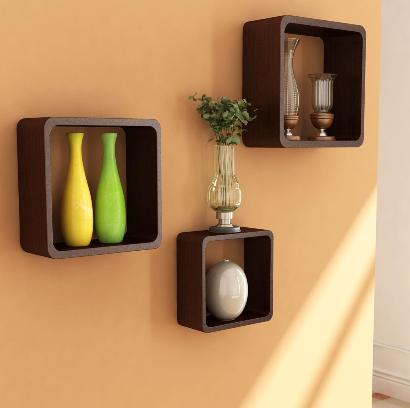 Wall Shelves Design Images Gallery Dark Wood Shelves Wall Dark With High Quality Bookshelves (View 13 of 15)