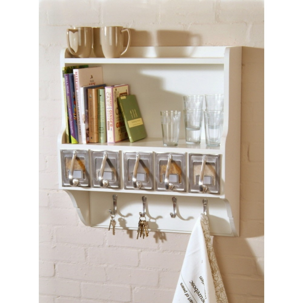 Wall Shelves Design Kitchen Wall Shelving Units With Baskets Inside Wall Shelving Units (#8 of 15)