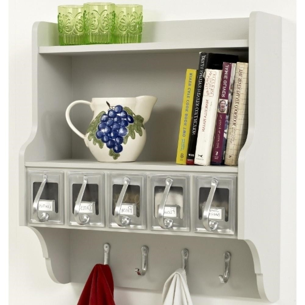 Wall Shelves Design Kitchen Wall Shelving Units With Baskets Pertaining To Wall Shelving Units (#9 of 15)