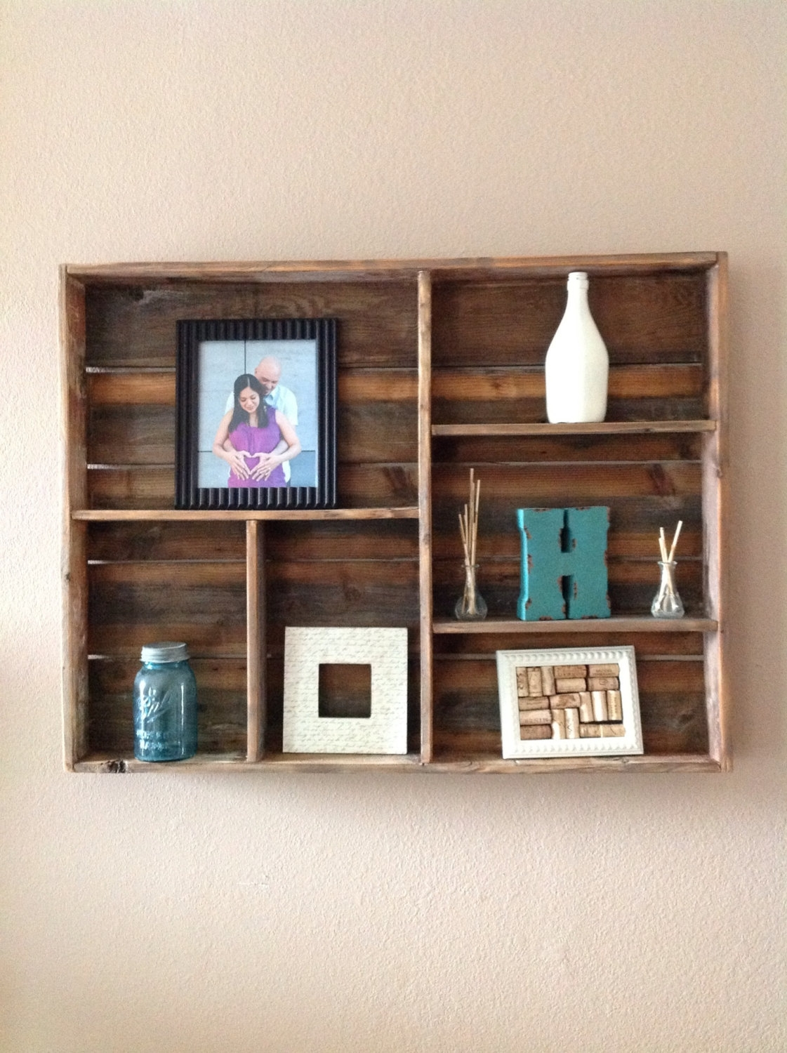 Popular Photo of Wooden Wall Shelves