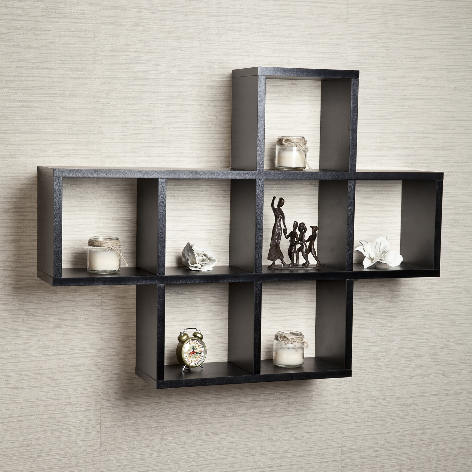Wall Shelves Design Narrow Wall Shelves For Minimalist Home Decor Inside Wall Shelves (#9 of 12)