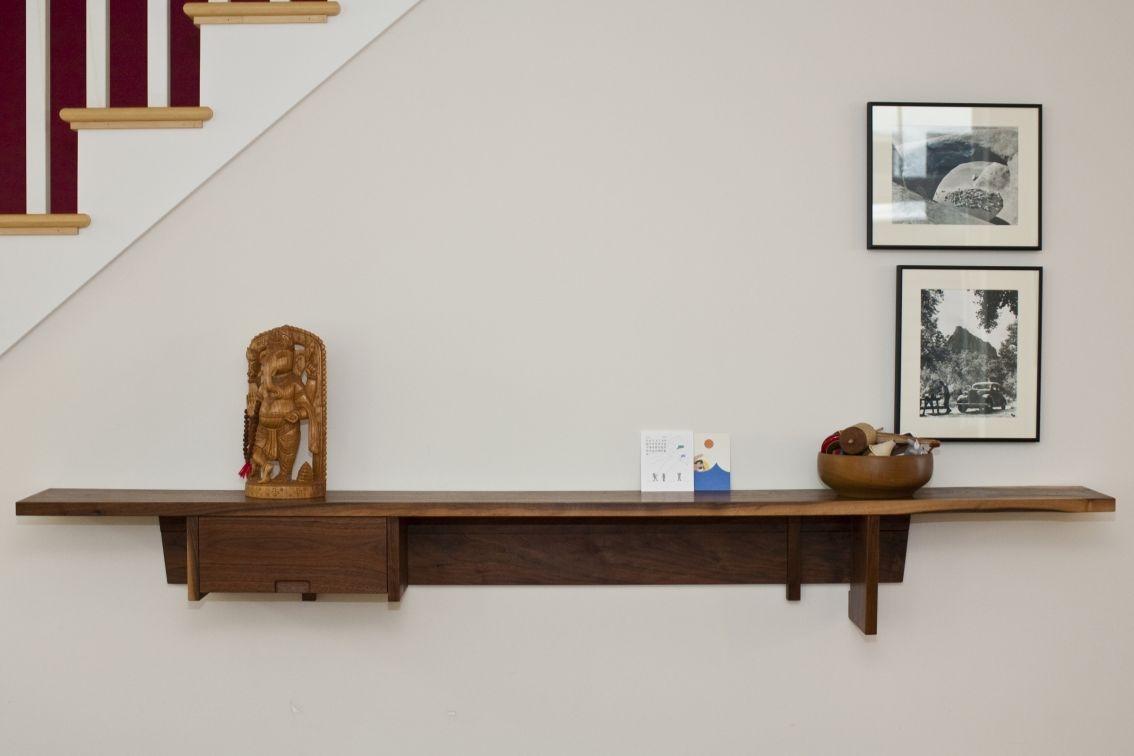 Wall Shelves Design Wood Shelves For Walls Home Depot Corner Wood Regarding Wooden Wall Shelves (#11 of 15)