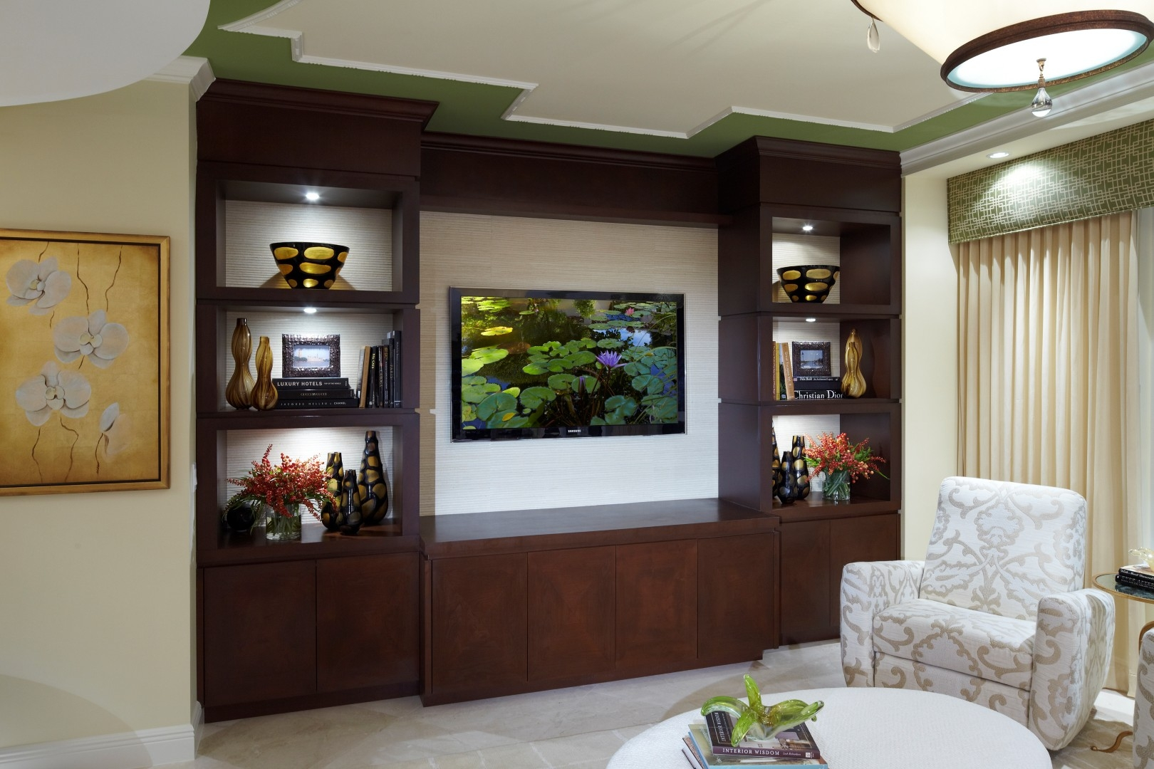 Popular Photo of Wall Units For Living Room