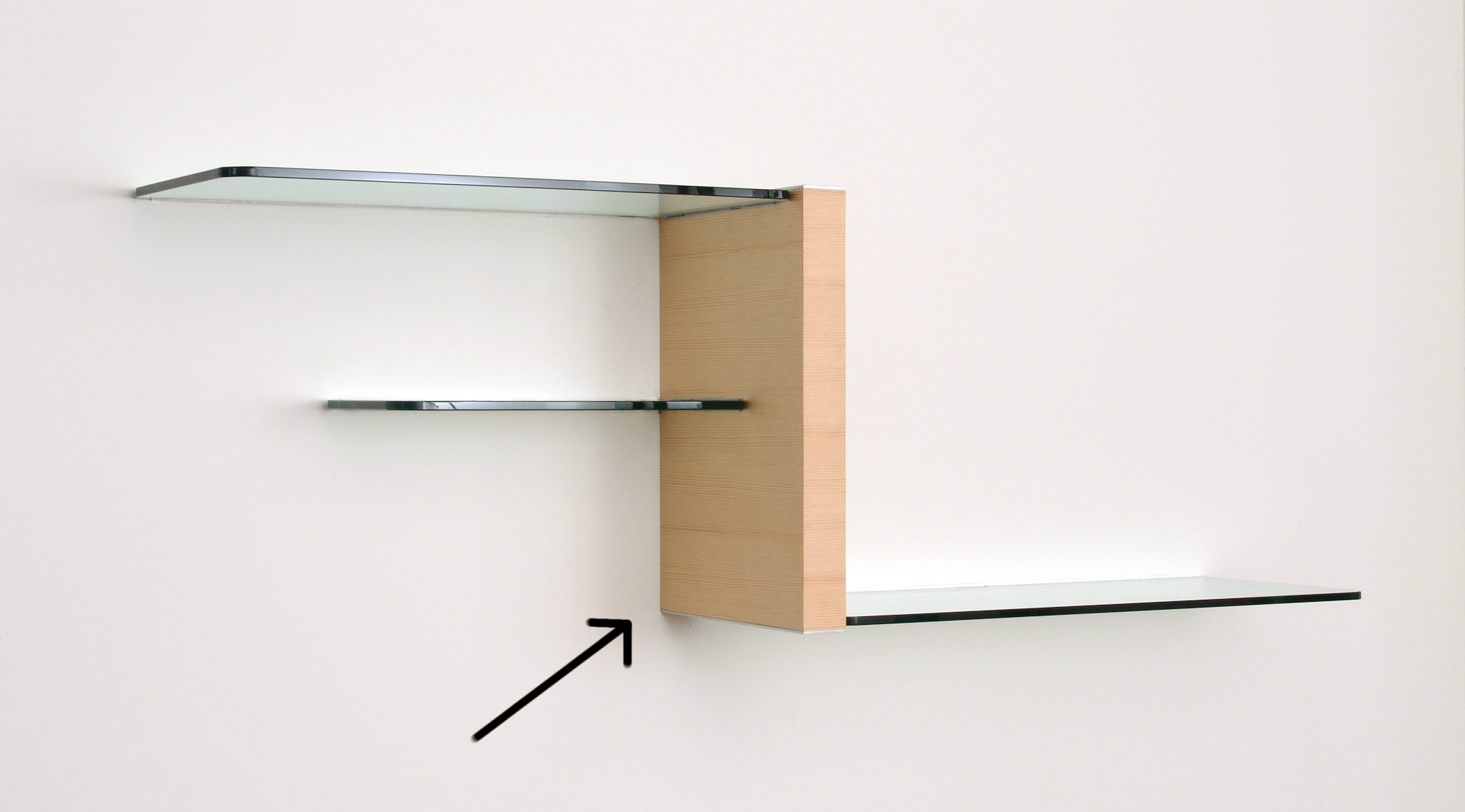 Wall Units Glass Shelving Intended For Floating Glass Shelves (#15 of 15)