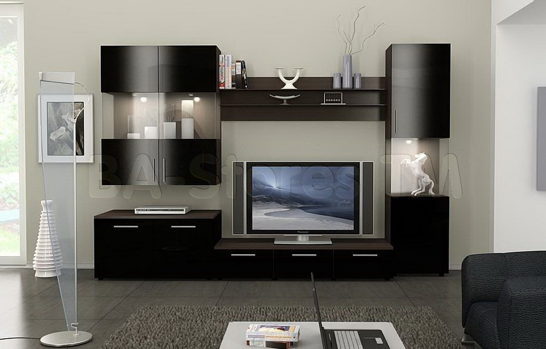 Wall Units Prices Lowest Wall Unit Cherry And Entertainment Centers In Modern Wall Units (#15 of 15)
