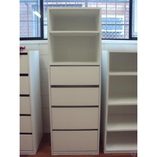 Wardrobe Bedroom Furniture Inserts Tower With 4 Drawers And Pertaining To Cupboard Inserts For Wardrobes (#12 of 15)