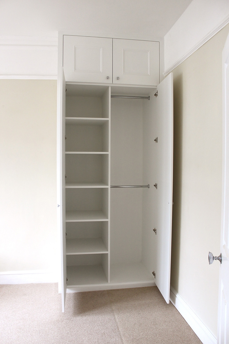 Popular Photo of Built In Cupboard Shelving