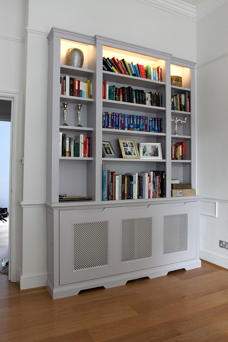 Wardrobe Company Floating Shelves Boockcase Cupboards Fitted Regarding Radiator Bookcase (View 3 of 15)