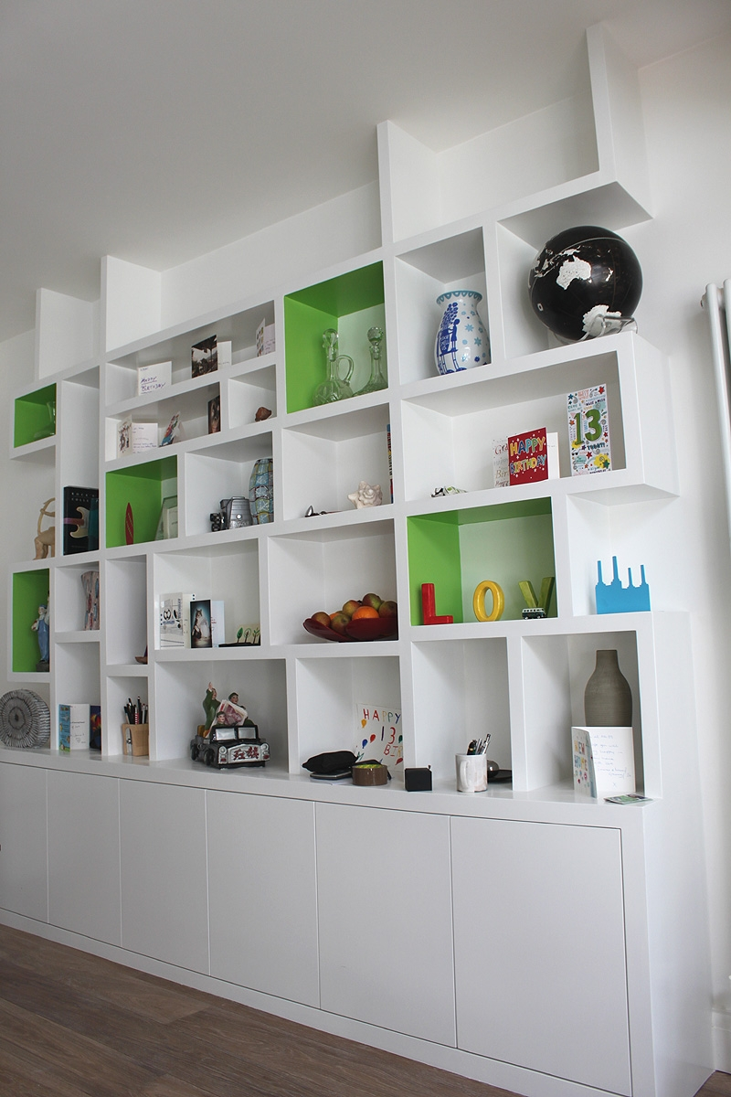 Wardrobe Company Floating Shelves Boockcase Cupboards Fitted With Modern Bookcases (View 15 of 15)