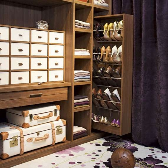Wardrobe Shoes Rack And Cabinet Storage Idea For Small Space With Wardrobe Shoe Storages (View 15 of 15)