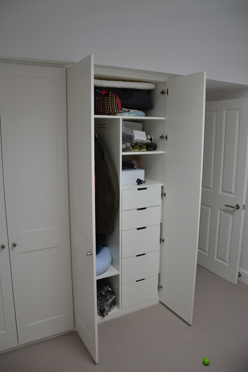 Wardrobe With Drawers White Organize And Decorate Everything For Wardrobe With Drawers And Shelves (View 13 of 15)