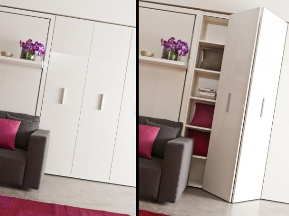 Wardrobes And Storage Units Clei Space Saving Furniture London Uk Inside Space Saving Wardrobes (View 2 of 15)