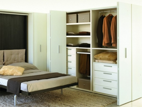 Popular Photo of Space Saving Wardrobes
