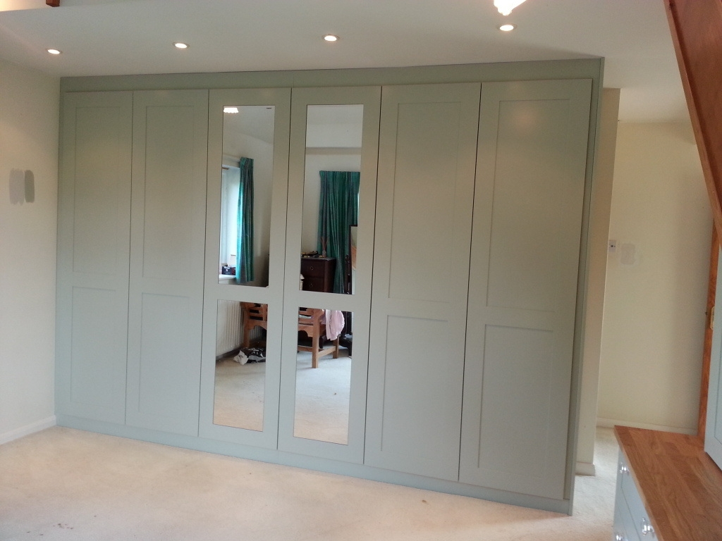 15 Photo Of Solid Wood Fitted Wardrobes