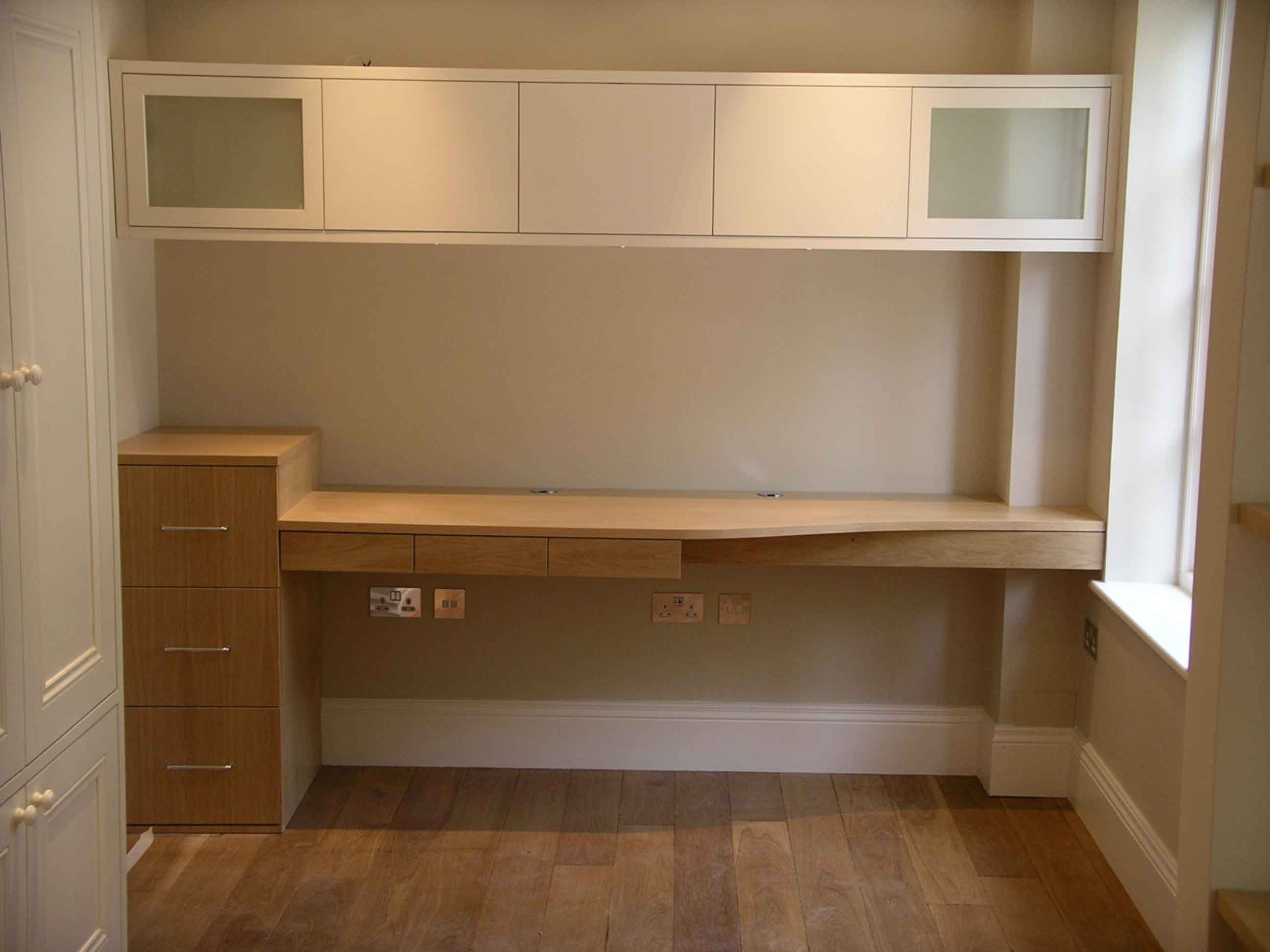 Well Suited Home Office Study Furniture Fitted Home Office Regarding Bespoke Study Furniture (#15 of 15)