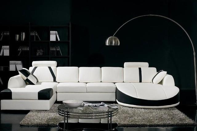 White And Black Sofas Hereo Sofa With Regard To Black And White Sofas (#15 of 15)