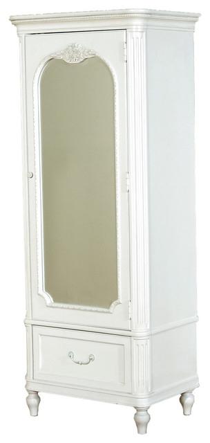 White Armoire Dresser Bestdressers 2017 Throughout White Wardrobe Armoire (View 11 of 15)