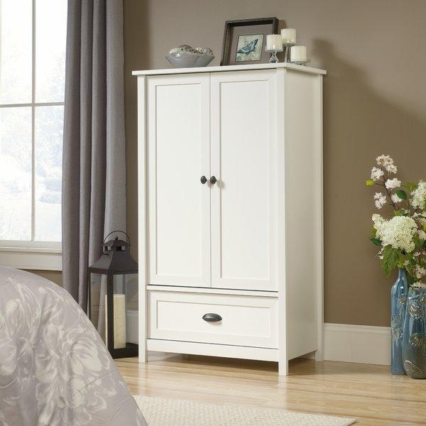 Popular Photo of White Wardrobe Armoire