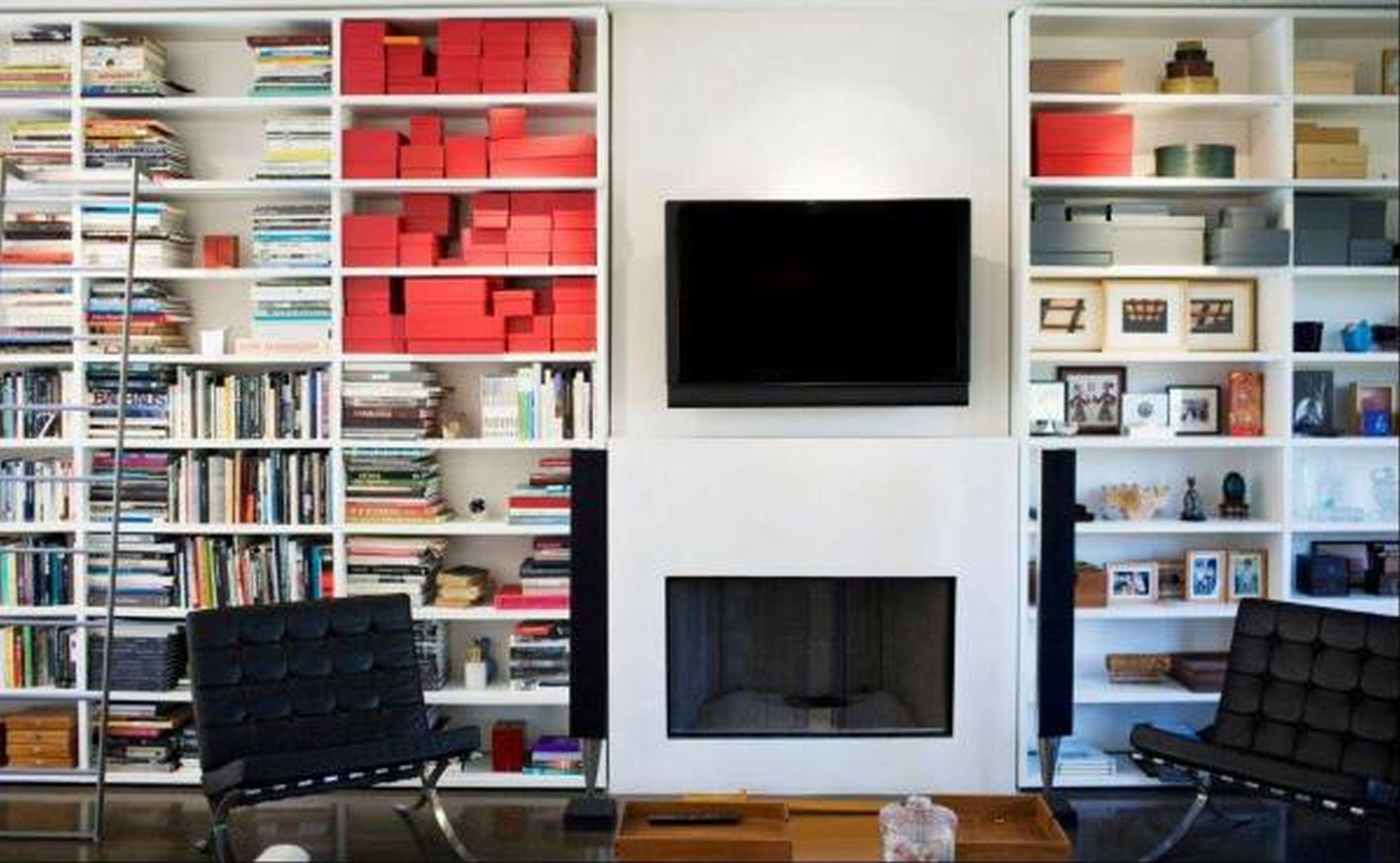 White Bookcase With Glass Door Bethelisaharris Throughout Tv Bookcase Combination (#15 of 15)