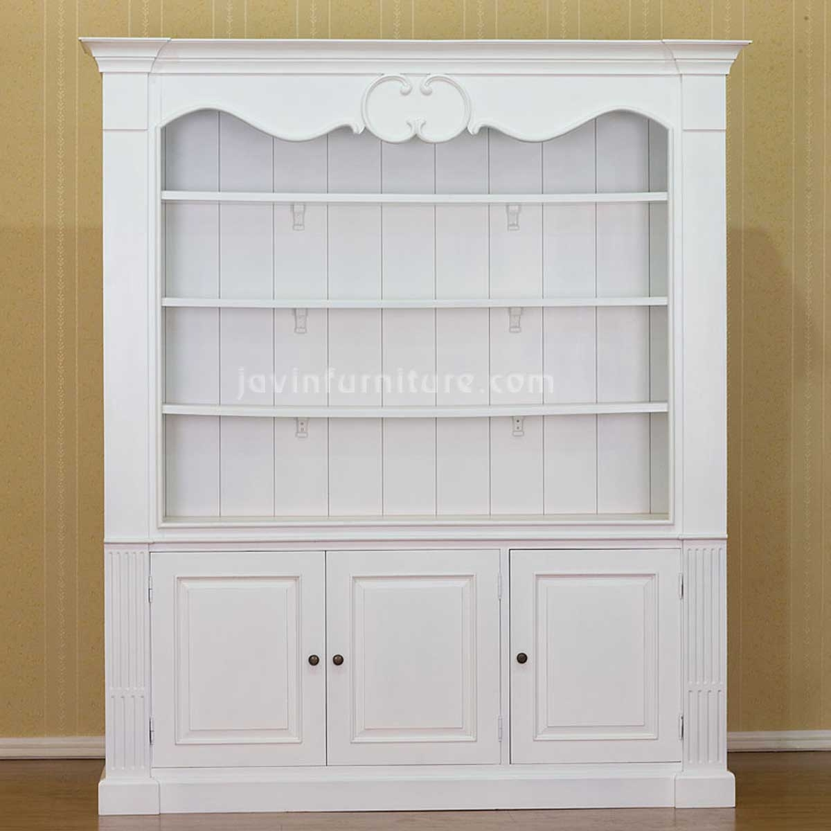 White Bookcases Within White Bookcases (#13 of 15)