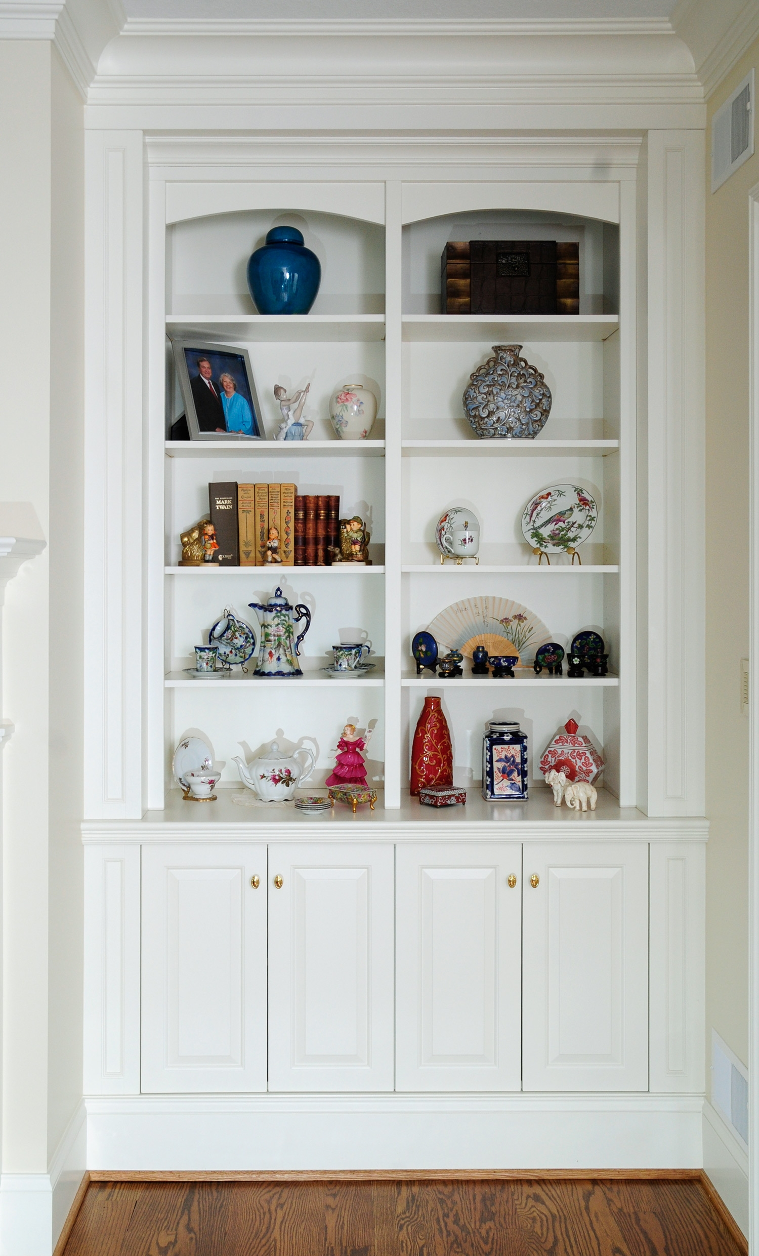 White Bookcases Within White Bookcases (#14 of 15)