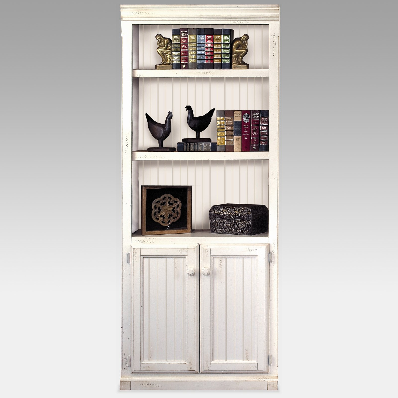 White Bookshelves With Cabinets Creative Cabinets Decoration Inside Bookcase With Bottom Cabinets (#13 of 15)