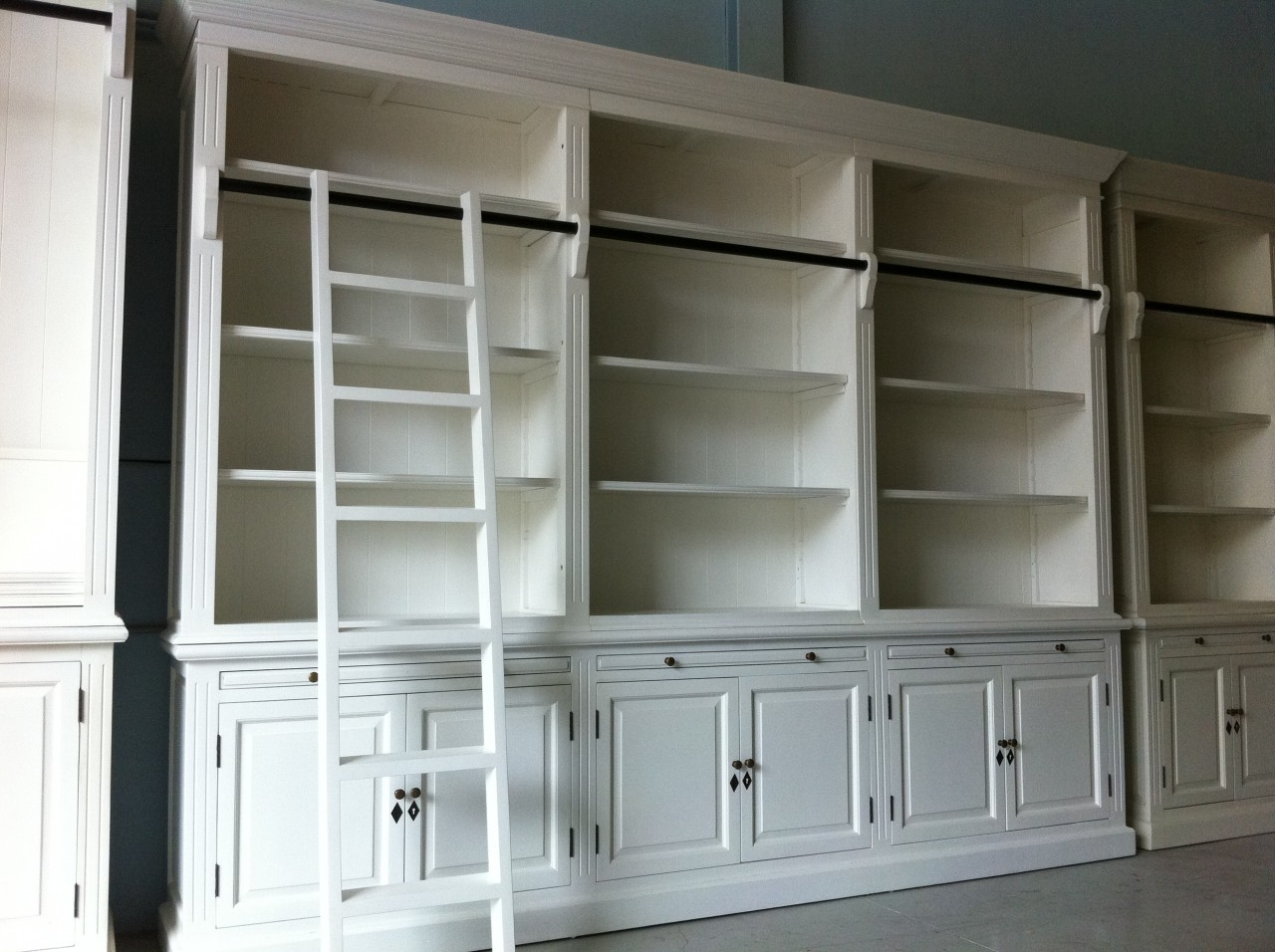 White Cabinets And Bookshelf Creative Cabinets Decoration For White Bookcase With Cupboard (View 14 of 15)