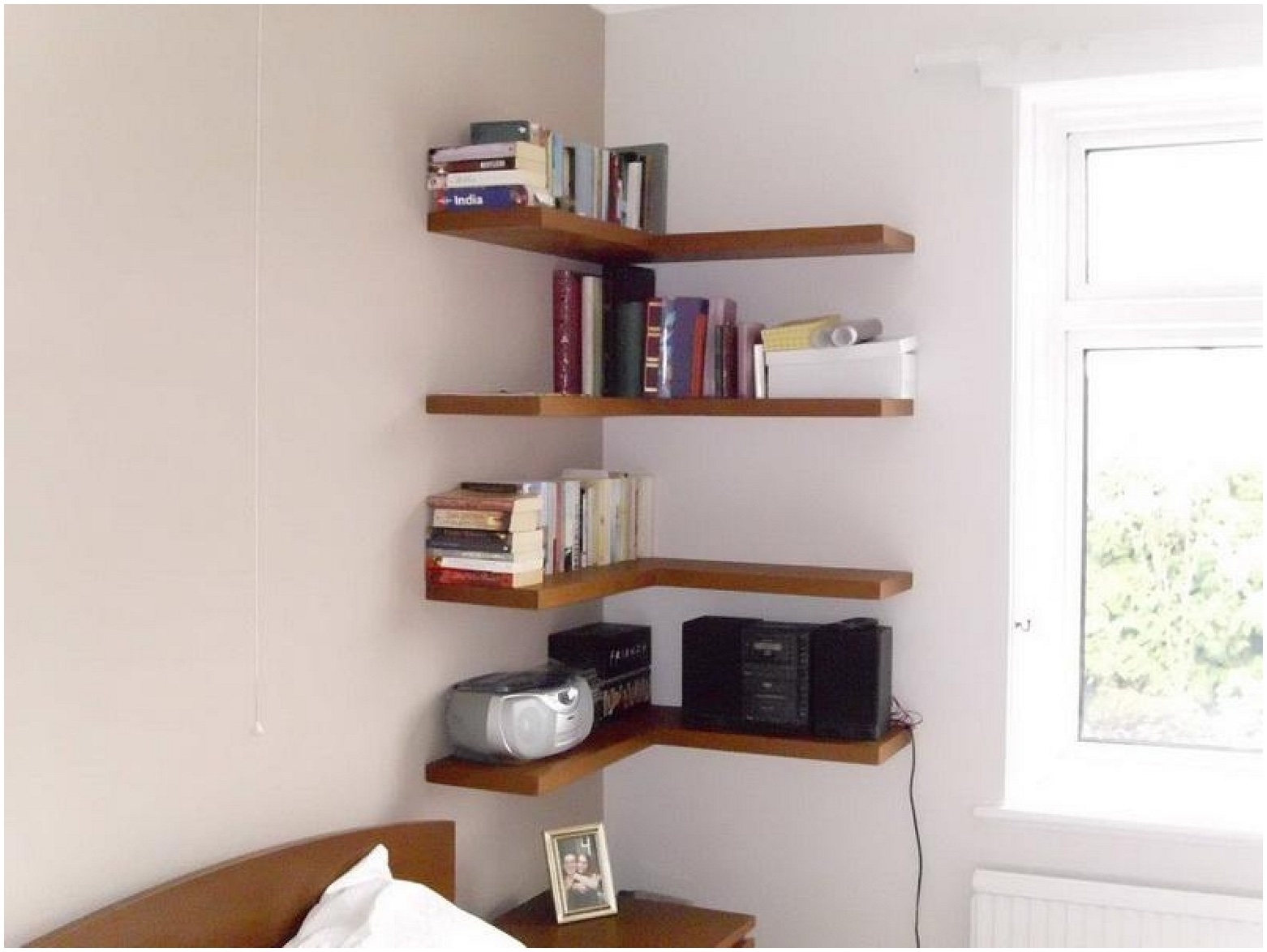15 Photo Of Corner Shelf For Dvd Player On Wall