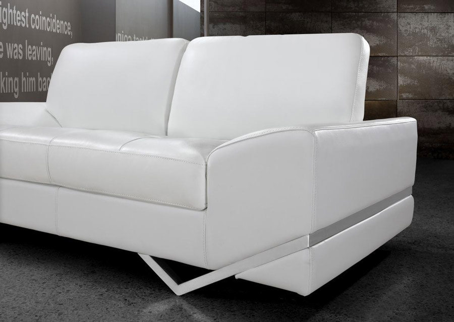 White Modern Sofa Set Vg 74 Leather Sofas Within White Modern Sofas (#15 of 15)