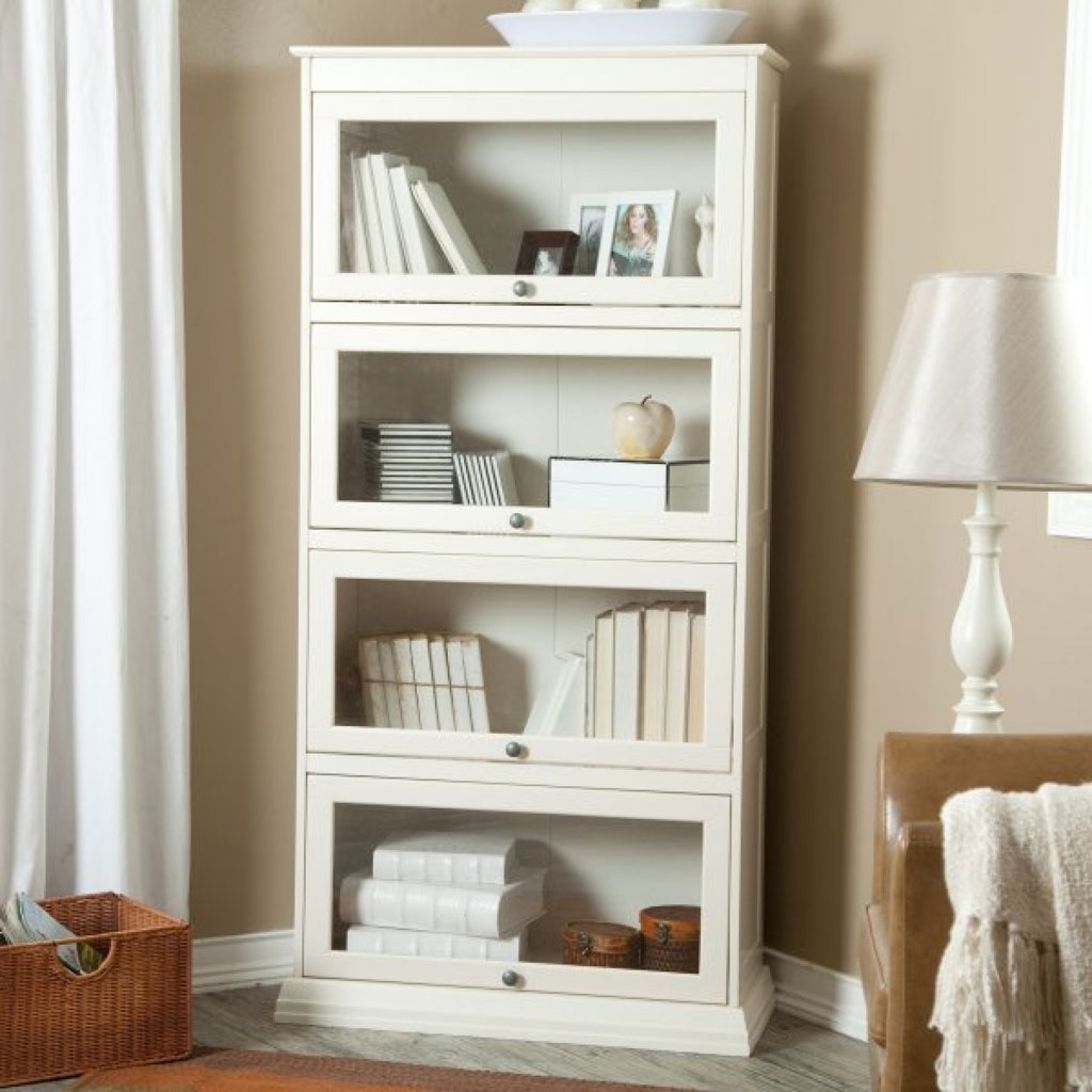 White Wood Bookcase Roselawnlutheran For White Painted Bookcase (#13 of 15)