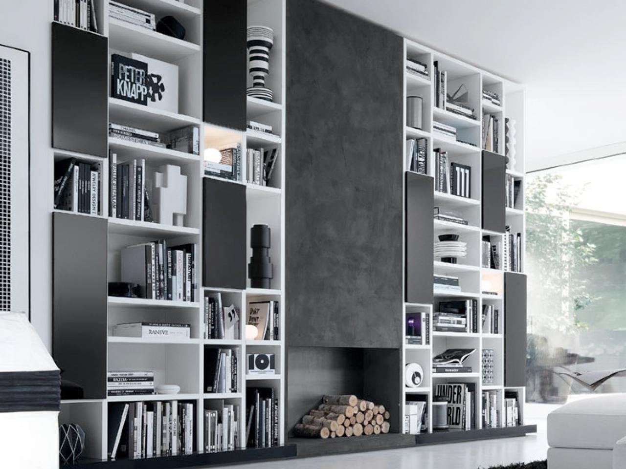 Whole Wall Storage A Home Design Thread Social Drowned In For Whole Wall Shelving (#15 of 15)