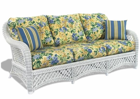 Wicker Sofa Cushions Wicker Paradise Inside Sofa Cushions (#15 of 15)